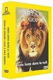 Coffret national geographic;3 lions dans la nuit;lions et hyenes;face a face mortel [Francia] [DVD]