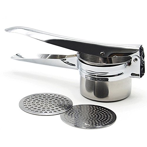SZTARA New Good Grips Stainless Steel Potato Ricer and Masher Mashed...