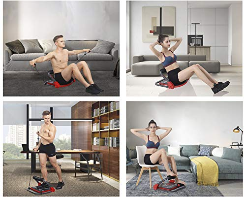 Product Image 4: eHUPOO Ab Machine Abs Workout Equipment, Abs and Whole Body Exercise Equipment for Home Workouts,Core Strength Training&Abdominal Exercise Trainers With Resistance Bands for Home Gym.USA Patented