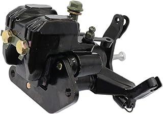 Rear Brake Caliper Assembly Keenso Motorcycle ATV Rear Brake Caliper Assembly For Yamaha Warrior 350 YFM350X 1987-2004 Black