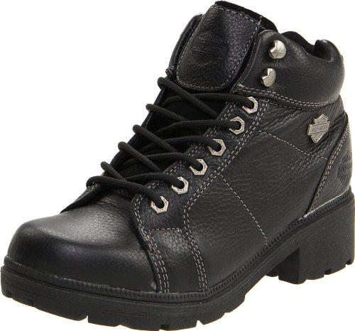 "Harley-Davidson Women's Tyler 6"" Boot,Black,7.5 M"