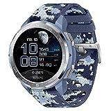 HONOR Watch GS PRO Orologio Intelligente da 48mm per Gli Uomini 1.39'Amoled, chiamate Bluetooth, Monitor SpO2, tracciamento della frequenza cardiaca, GPS 5atm Impermeabile, Camo Azul