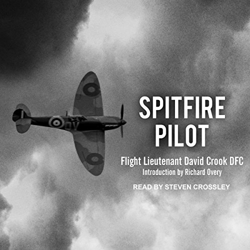Spitfire Pilot audiobook cover art