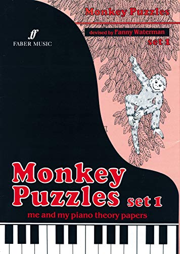 Monkey Puzzles set 1: Me and My Piano Theory Papers (The Waterman / Harewood Piano Series)