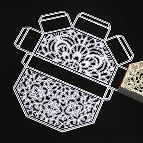 hgfcdd Exquisite Geschenkbox Metall Stanzformen Schablone DIY Scrapbooking Album Stempel Papier Karte Präge Decor Handwerk