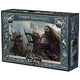Edge Entertainment- Game of Thrones CdHyF el Juego de miniaturas: Grandes hachas Umber, Color (EECMSI14)