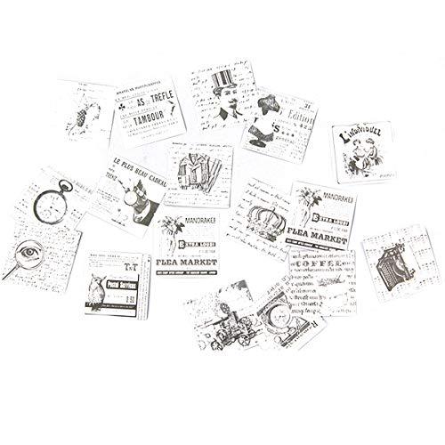 Etiquetas Adhesivas Regalo Vintage Marca AIUIN