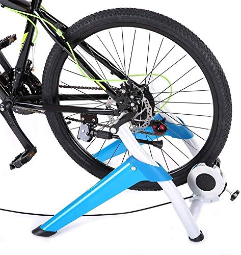 HZK Bike Magnetic Turbo Trainer Bicycle Road Vehicles MTB Training Bench Indoor Riding Platform Fluid Stand with Noise Reduction Wheel xiao1230 WDDT