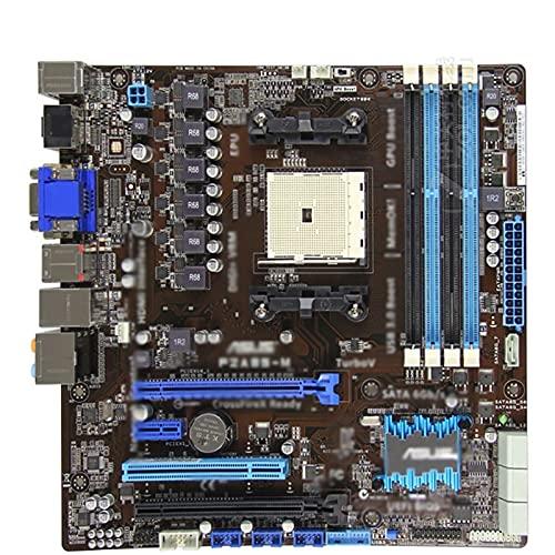 Fit for ASUS F2A85-M Placa Base Socket FM2 para AMD A85 DDR3 64GB PCI-E 2.0 100% Placa Base de computadora Original SATA II de Escritorio, Placa Base