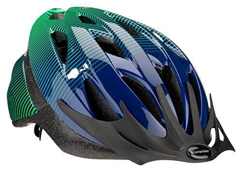 Schwinn Thrasher Bike Helmet, Lightweight Microshell Design, Youth, Green