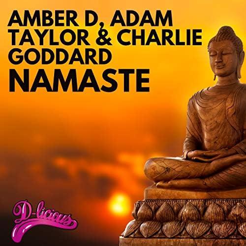 Amber D, Adam Taylor & Charlie Goddard