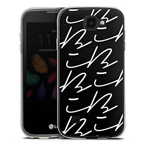 DeinDesign Silikon Hülle kompatibel mit LG K3 (2017) Hülle transparent Handyhülle Logo YouTube iBlali