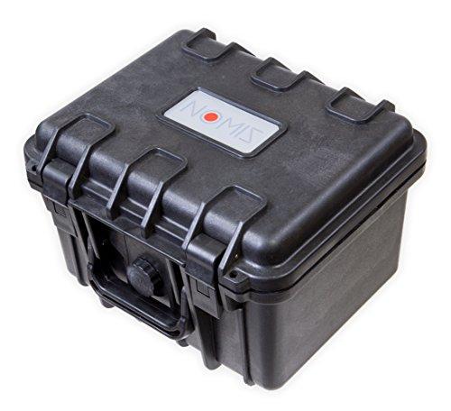 NOMIS Hartschalenkoffer Outdoor Cases 27 x 23 x 18,5cm Staub- und wasserdicht schwarz