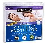 Hanna Kay Queen Size Premium Hypoallergenic Waterproof Mattress...