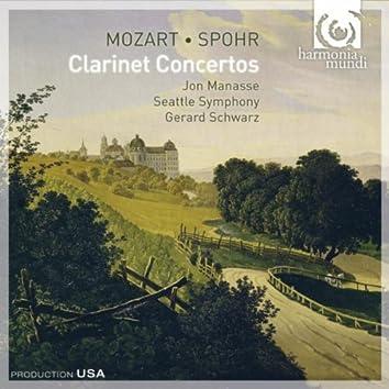 Mozart & Spohr - Clarinet Concertos