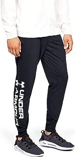 Under Armour Men's Sportstyle Cotton Graphic Jogger Bottoms, Black, 2X-Large