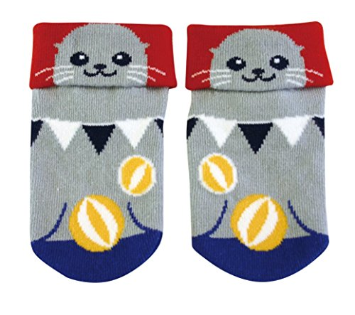 Samurai market Calcetine para Bambino Design Baby Seal