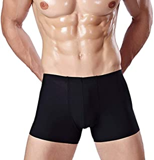 HaiDean Breathable Mens Soft Smooth Modern Breathable Casual Boxer Shorts Trunks Underwear Underpants Briefs Panty Solid C...