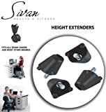"""Sivan Height Extenders (2"""") for Balance Ball Chairs; Set of 4"""