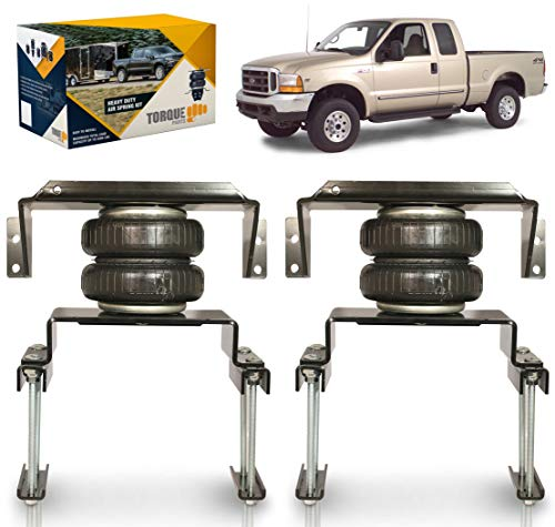 TORQUE Air Spring Bag Suspension Kit for 1999-2004 Ford F250 F350 and 2008-2010...