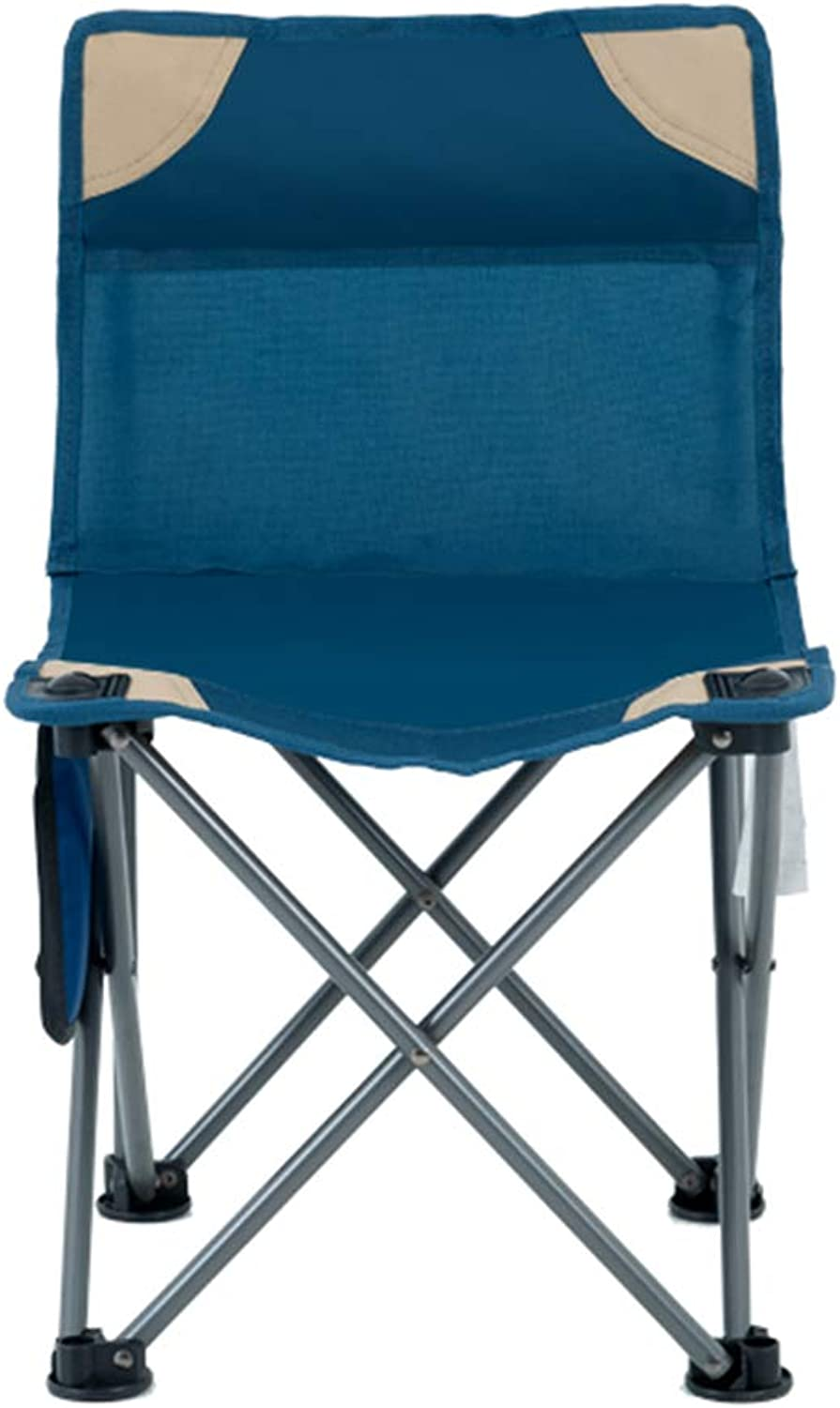 91e7ce8fa511 Folding Camping Chair with Storage Bag Stable Steel Bracket NonSlip ...