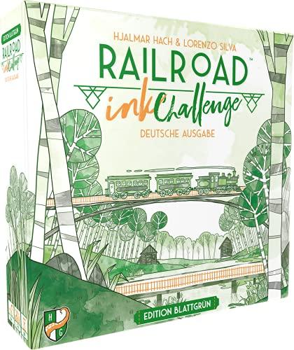 Railroad Ink: Edition Edition Sonnengelb, Würfelspiel (DE), für 1-4 Spieler, ab 8 Jahren