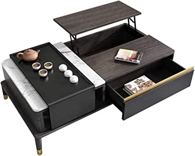 Coffee Table - Wood Home Living Room Modern Lift Top Locker - Lift Top Coffee Table w/Hidden Compartment Lift Tabletop Furniture