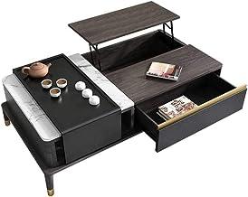 Coffee Table - Wood Home Living Room Modern Lift Top Locker - Lift Top Coffee Table w/Hidden Compartment Lift Tabletop Fur...