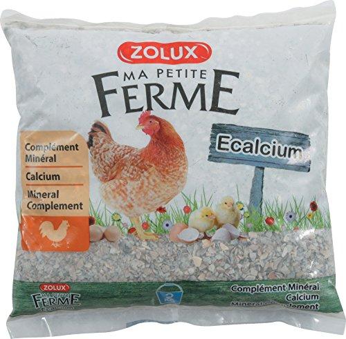 ZOLUX Alimentos complementaire gallinas e-calcium 2 kg