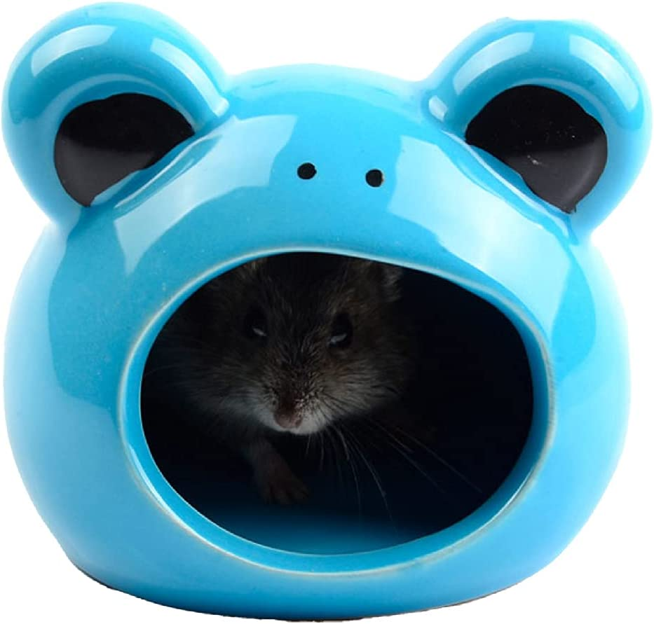 BTBT Hamster Hiding Place Reptile H Sales for sale Suitable Seattle Mall Igloo Ceramic