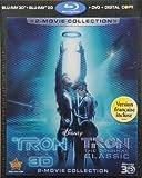 Tron: Legacy / Tron: The Original Classic (Five-Disc Combo: Blu-ray 3D / Blu-ray / DVD / Digital Copy) by Walt Disney