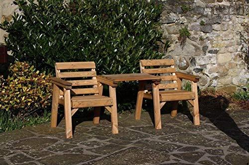 Garden Furniture/Patio Set Companion Seat Bench Solid Wood Set