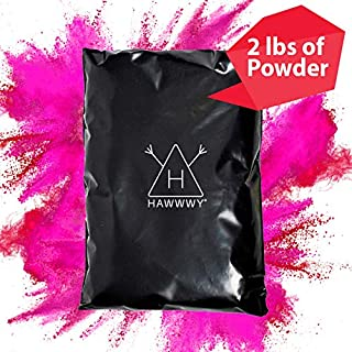 Hawwwy Colorful Powder Used for Gender Reveal Powder for Burnout, Colored Powder for Color Run, Tannerite Surprise Holi Games Motorcycle Exhaust Car Tires Truck Photography Packets (Pink Incognito)