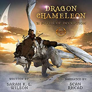 Dragon Chameleon: Paths of Deception cover art