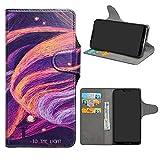 HHDY Motorola Moto E5 Case, Flip PU Leather Wallet with