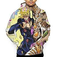 Jojoの奇妙な冒険 メンズ パーカー 長袖 プルオーバー スウエット 秋冬服 フード付き ジャージ ゆったり カジュアル 大きいサイズ