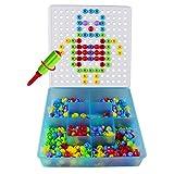 Jeux De Construction Loisirs Creatifs Mosaiques Jouet Educatif Puzzle Assemblage 352Pcs Enfant Fille Garcon 3 ans 4 ans 5 ans (352 Pcs)