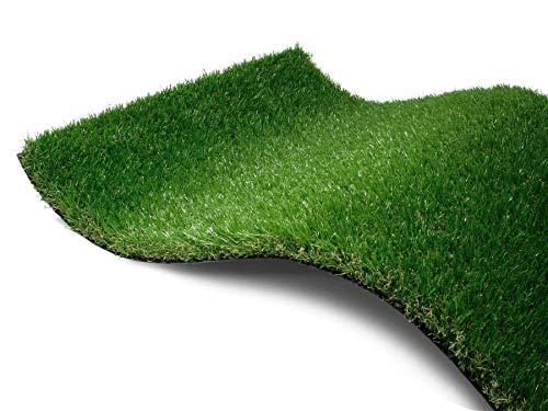 Gazon Synthétique de haute qualité WANDERLUST 37mm Épais- 2,00m x 1,00m Gazon Artificiel pour Balcon, Terrasse, Jardin | Résistant aux UV et Perméable à l'eau