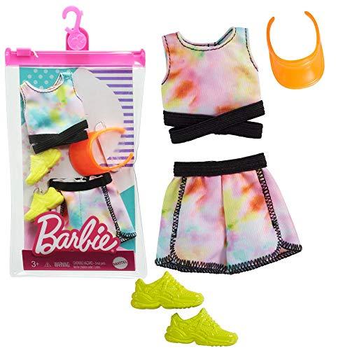 Barbie Set Fitness Mattel GRB99 | Moda Vestiti per Bambole