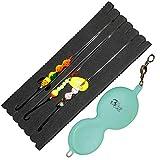Dieter Eisele Flunder Buttlöffel - 1 Spoon + 3 Vorfächer zum Meeresangeln auf Plattfische, Meeresmontagen für Schollen & Flundern, Gewicht:60g, Farbe:Loom