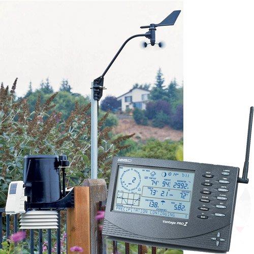 Davis inalámbrico Vantage Pro2 Plus con UV y sensores de radiación Solar