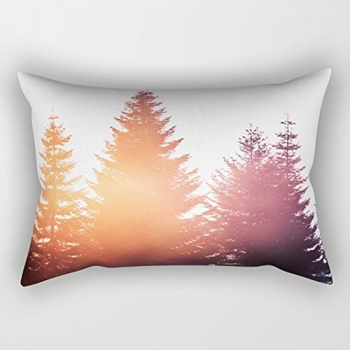 20 x 26 inches / 50 by 65 cm mountians forest pillow cases ,two sides ornament and gift to teens boys,saloon,teens girls,pub,wedding,home