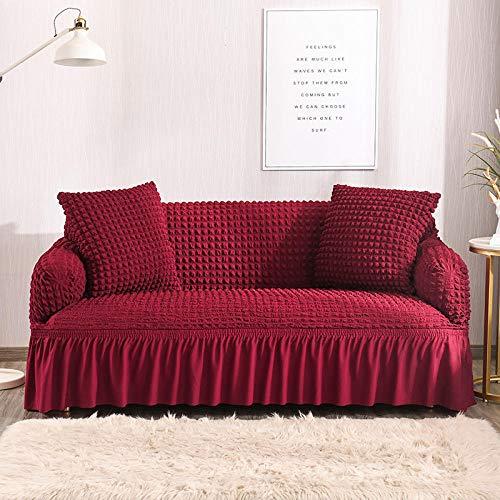 HXTSWGS Funda elástica para sofá,Funda de sofá para Perros, Funda de sofá para sillón de Sala de Estar, Funda para Asiento de sofá, Funda Protectora para Perro Mascota-Color 14_235-300cm