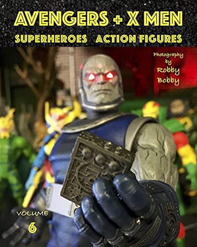 AVENGERS + X MEN: SUPERHEROES (Avengers + X Men Superheroes Action Figures Book 6) (English Edition)