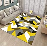 LCFF alfombras Salon Alfombra Moderna para Salon,Dormitorio,Cocina,Pasillo,Habitacion,Exterior Comedór & Dormitorio,Fácil de Limpiar,Superficie Suave,Pelo Corto-