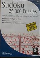数独25,000パズル(ギフト学)
