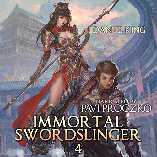 Immortal Swordslinger 4 cover art