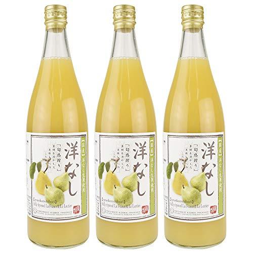 国華園 洋梨ジュース 3本 お中元 ギフト