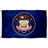 Sports Flags Pennants Company State of Utah Flag 3x5 Foot Banner