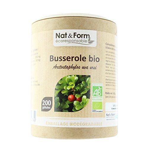 Nat&form Busserole Bio 200 Gelules